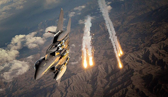 U.S air strike in Syria