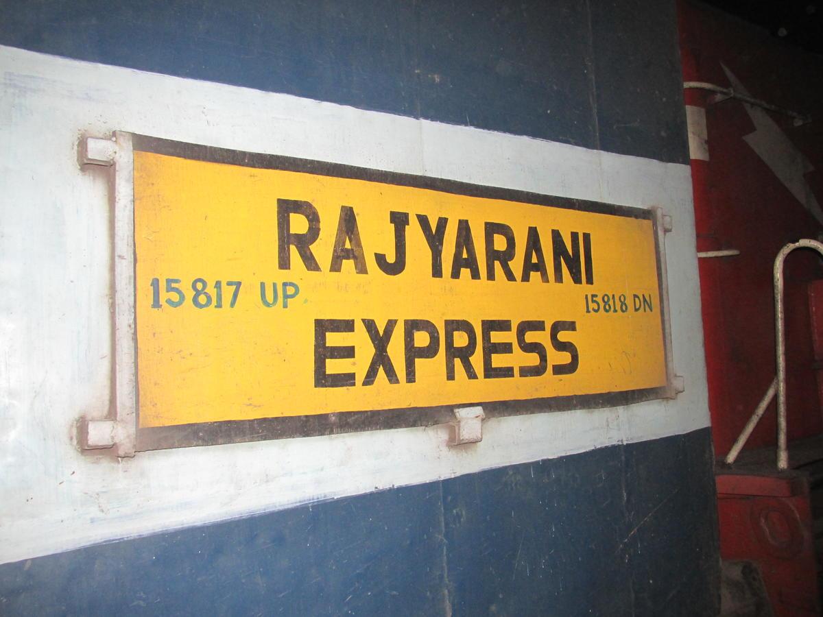 rajya rani express derailment