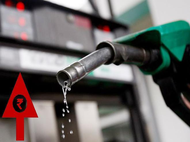 Petrol, Diesel hiked