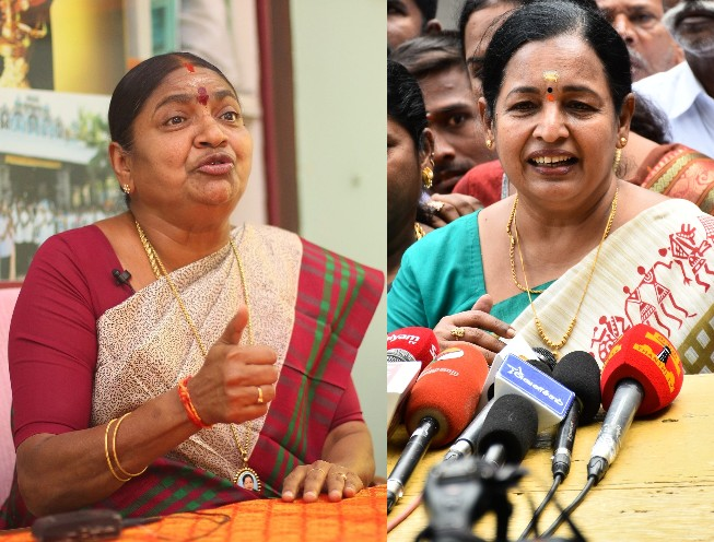 Valarmathi, CR Saraswathi