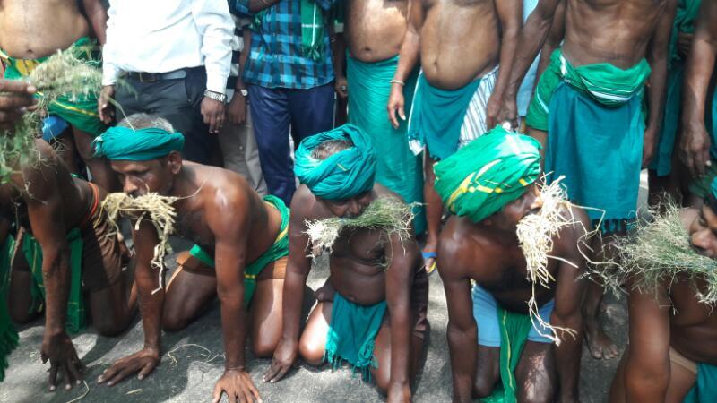 TN farmers delhi