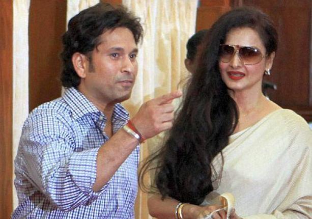 சச்சின் மற்றும் ரேகா