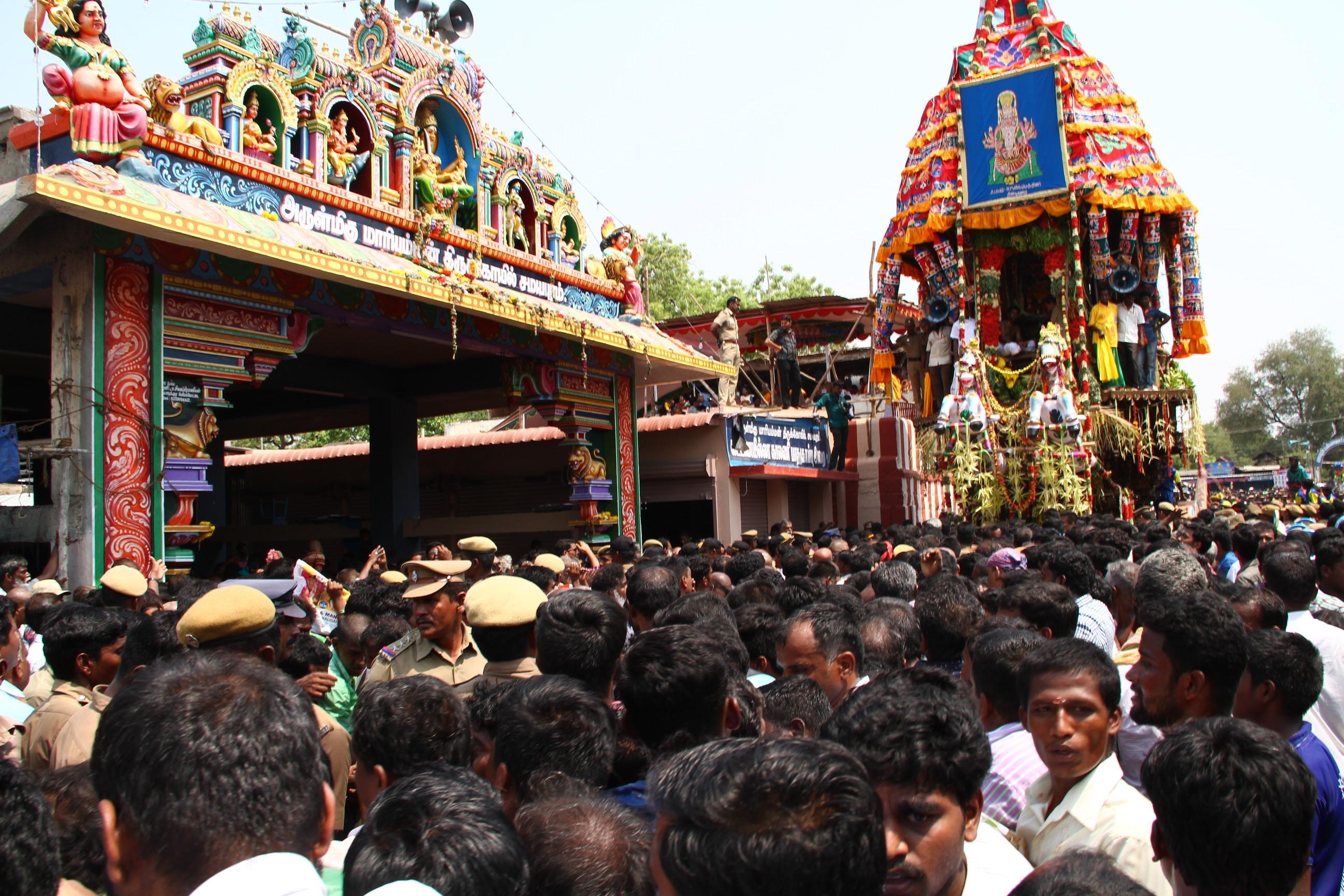சமயபுரம் மாரியம்மன்  திருக்கோயில்