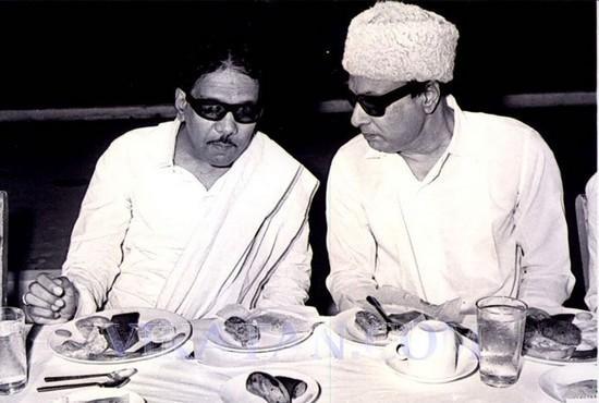 கருணாநிதி | எம்.ஜி.ஆர்