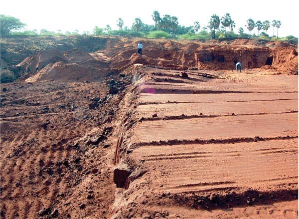 Mineral sand mining