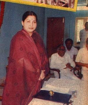ஜெயலலிதா, ஆர்.எம்.வீரப்பன்