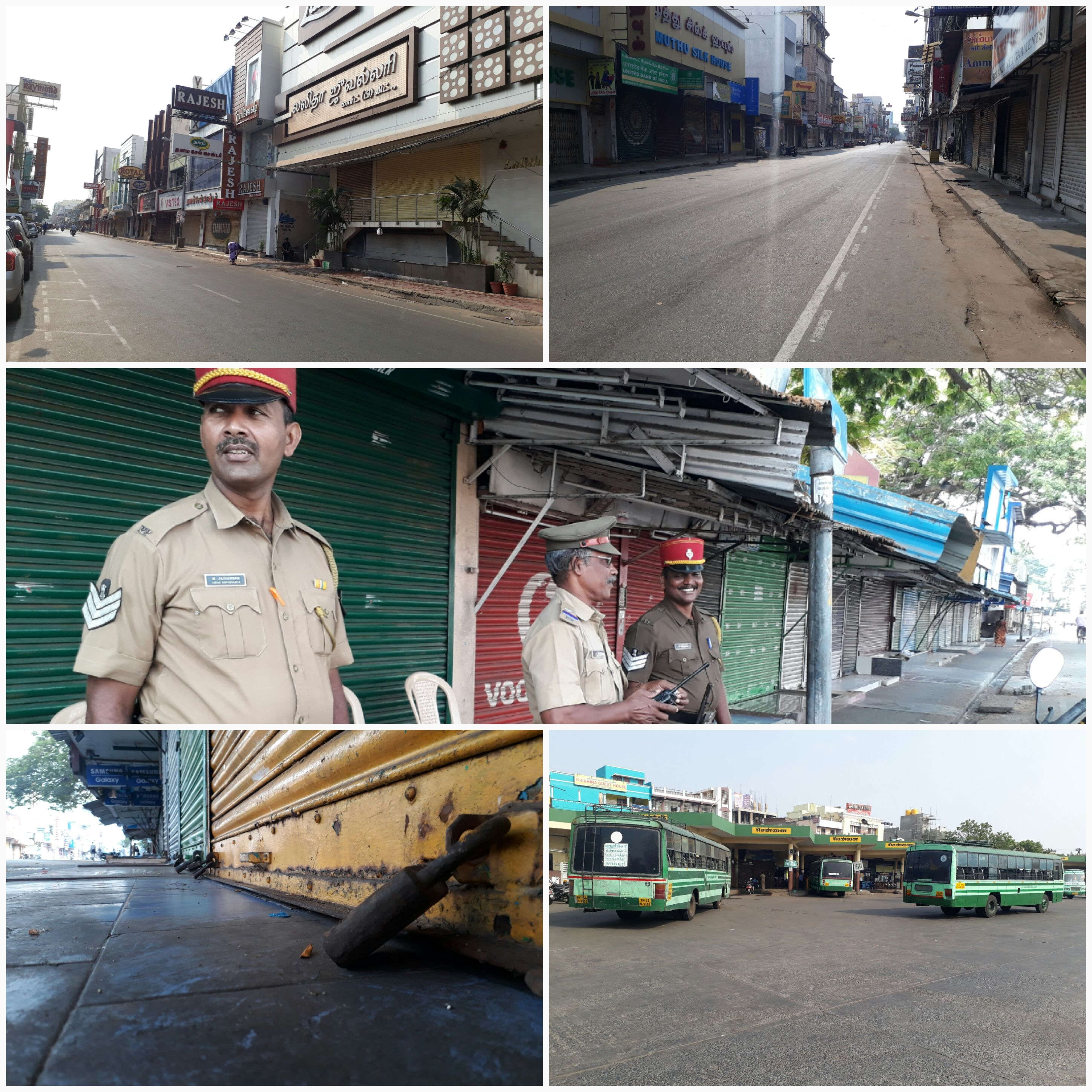 Pondicherry bandh
