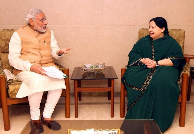 மோடி ஜெயலலிதா
