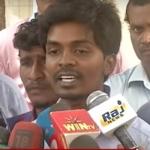 மயிலாப்பூர் இன்ஸ்பெக்டர் மோகன்தாஸ் மீது மெரினா போராட்டக்காரர்கள் புகார்!