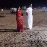 மெரினா பீச்சுக்கு விசிட் அடித்த ஸ்டாலின் தம்பதி!