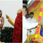 அம்பேத்கர் சிலைக்கு ஸ்டாலின், விஜயகாந்த் மரியாதை