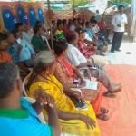 திருப்பூர் சாமளாபுரத்தில் மீண்டும் உண்ணாவிரதப் போராட்டம்