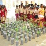 விடுமுறைக்கான தோழன்..! அரசுப் பள்ளியின் 'செம' ஐடியா