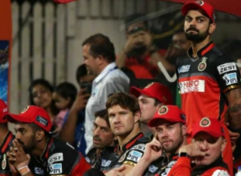 #IPL10 - வெறும் 49 ரன்களுக்குள்  கோலி தலைமையிலான பெங்களூரு அணியை சுருட்டியது கொல்கத்தா