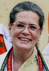 சோனியா காந்தி