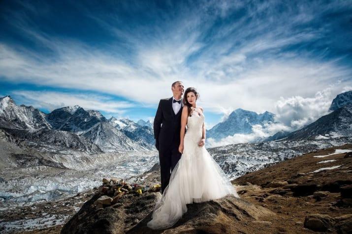 Everest wedding