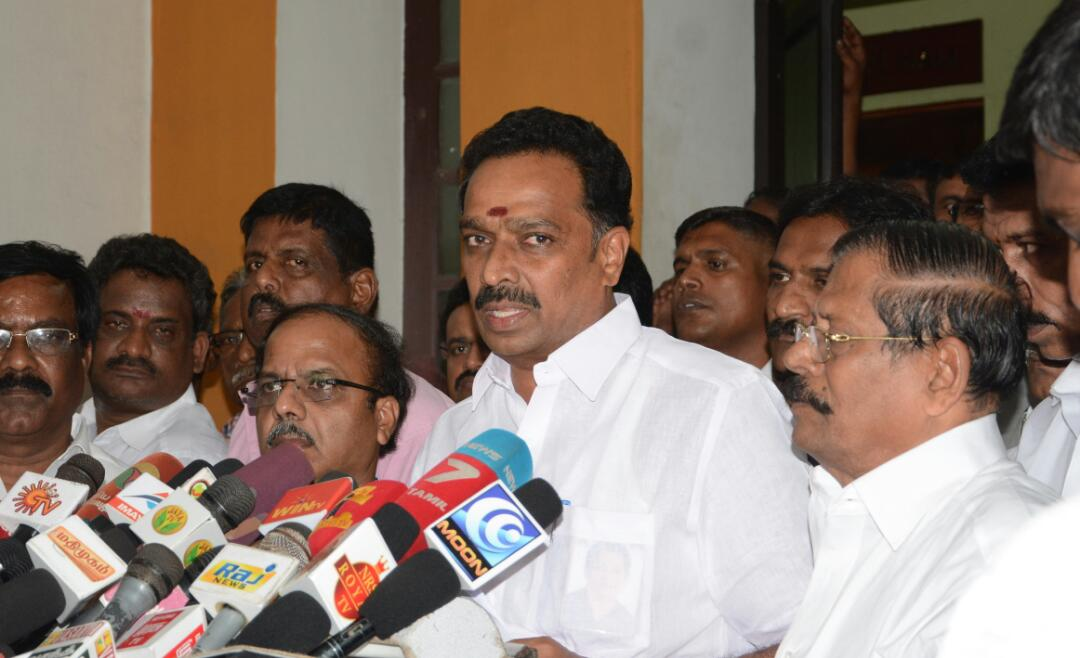Minister Vijayabhaskar