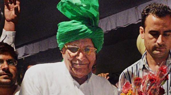 ஹரியானா முன்னாள் முதல்வர் ஓம் பிரகாஷ் சவுதாலா