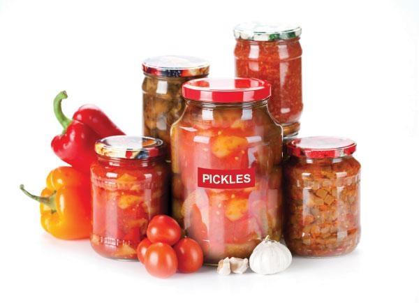 Pickles in Bottle