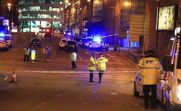 Bomb blast in Manchester