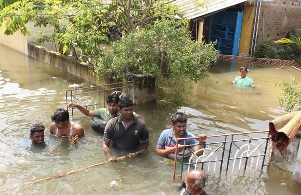 Flood in Chennai