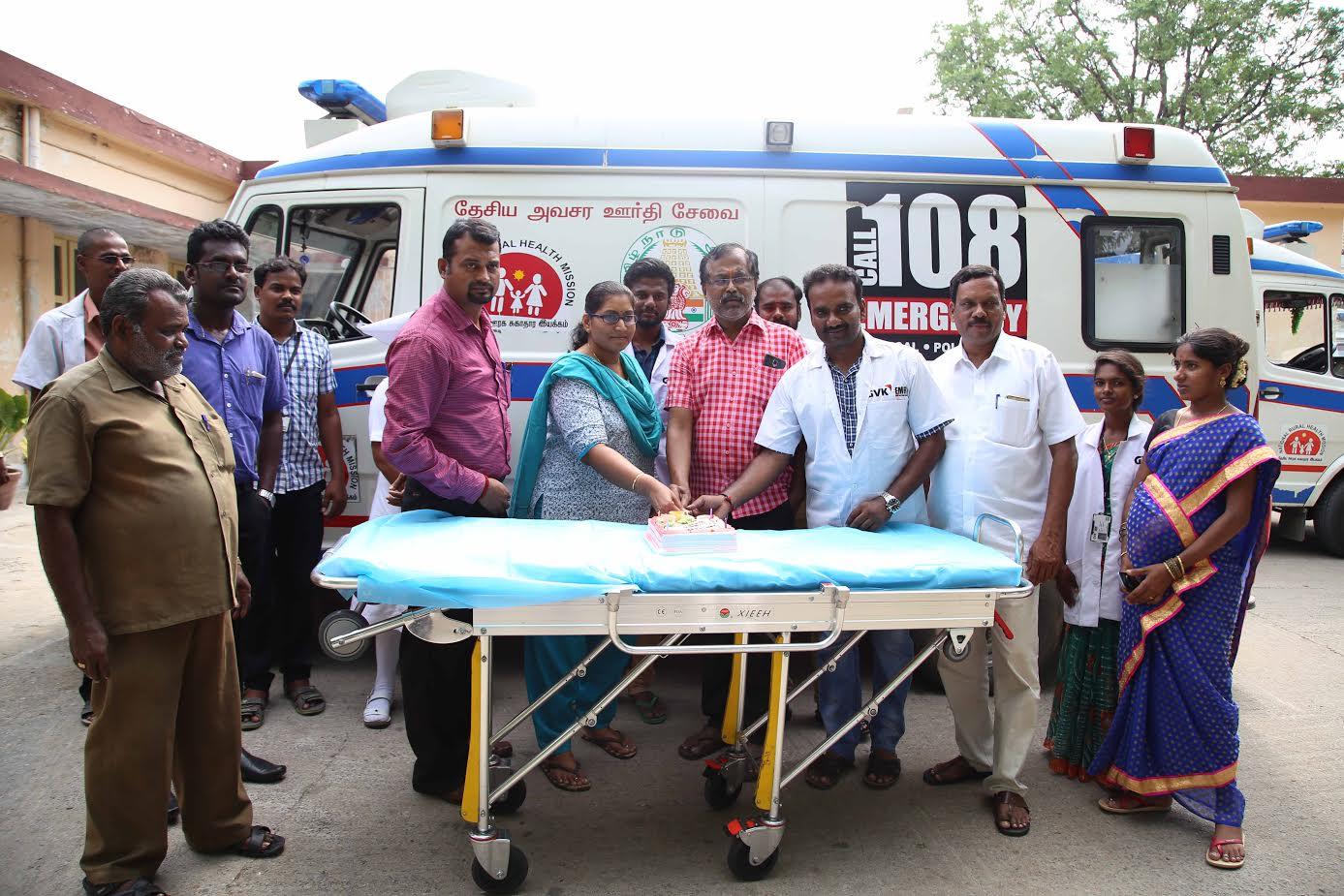 ambulance driver day