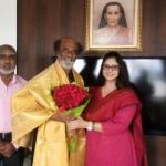 ரஜினிகாந்த் - நக்மா சந்திப்பின் நோக்கம் அரசியலா?