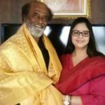 ரஜினியைச் சந்தித்த கதை சொல்கிறார் நக்மா!
