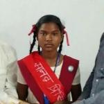 பள்ளியின் ஒரு நாள் முதல்வரான 14 வயது பழங்குடி மாணவி!
