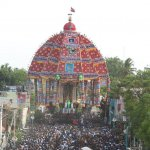 ஆடி அசைந்துவரும் திருவாரூர் தியாகராஜசுவாமி ஆழித்தேர்!