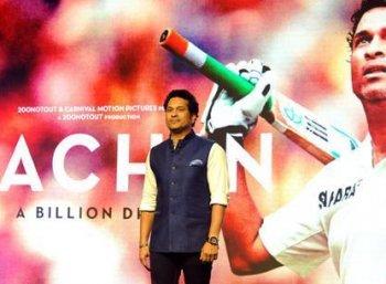 சச்சின் திரைப்படம்... இந்திய வீரர்களுக்கு இன்று சிறப்புக் காட்சி!