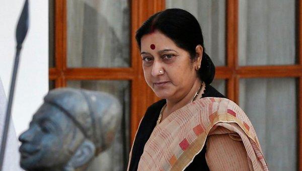 ''பாகிஸ்தானுக்கு நன்றி..!'' சுஷ்மா சுவராஜ் உருக்கம்