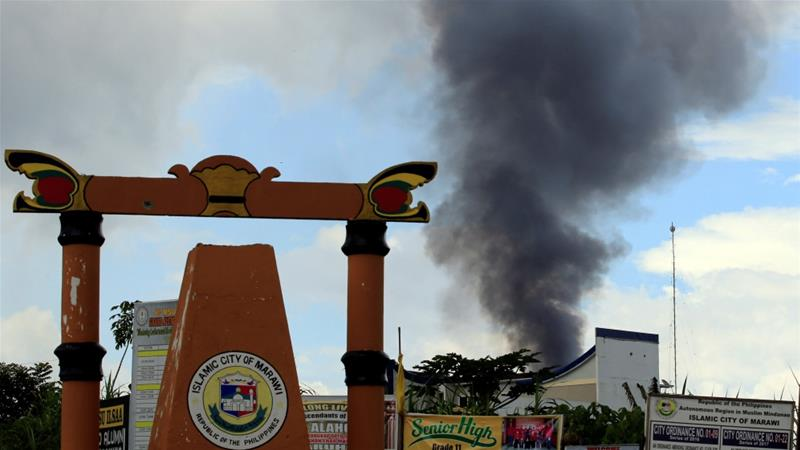marawi airstrike
