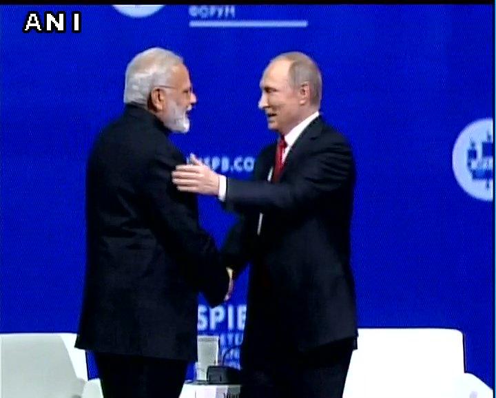 Modi - Putin