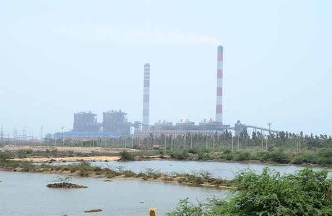 வல்லூர் அனல் மின்நிலையத்தில் தீவிபத்து!