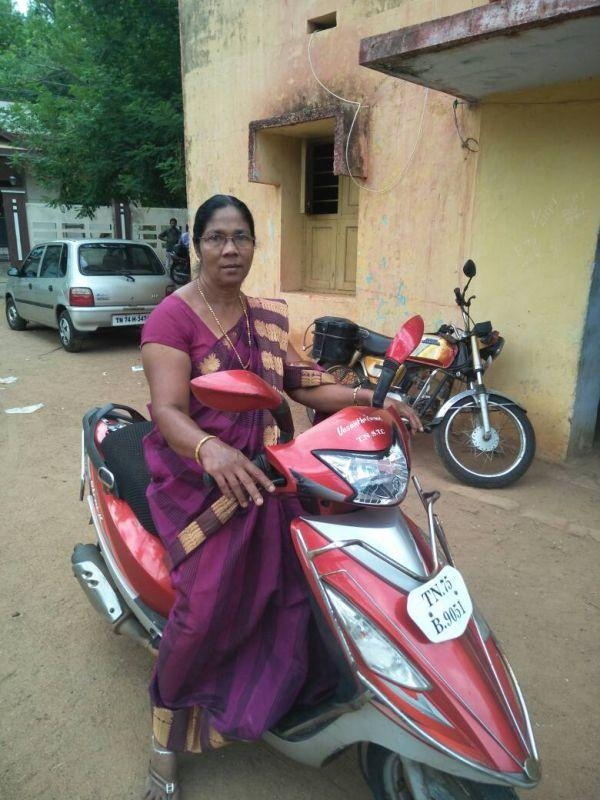 பேருந்து ஓட்டுநர் வசந்தா