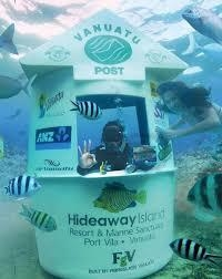 Hide away postbox