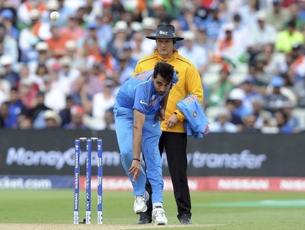 bhuvneshwar kumar bowling action