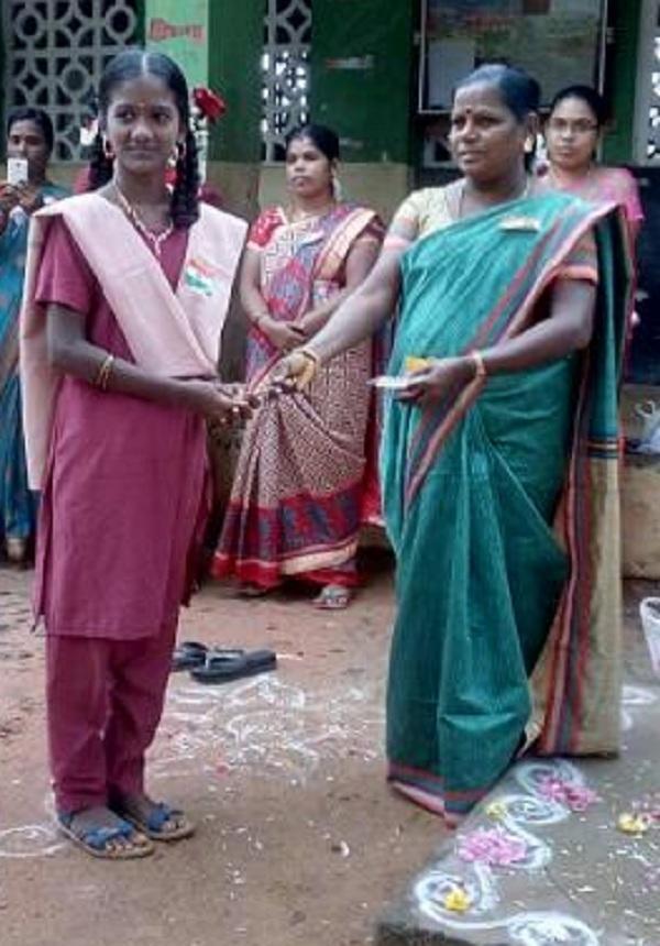 மாலதியோடு சூப்பர் சிங்கர் ப்ரித்திகா