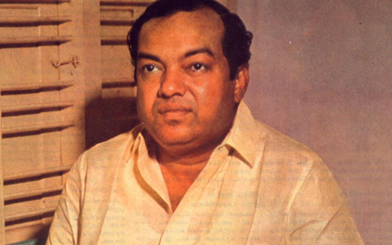 கவிஞர் கண்ணதாசன்