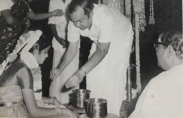 ரேவதி சண்முகம் திருமணத்தில் கண்ணதாசன்