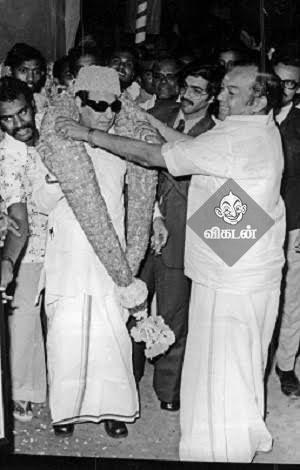 எம்.ஜி.ஆருடன் கண்ணதாசன்...