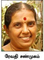 கண்ணதாசன் மகள் ரேவதி சண்முகம்