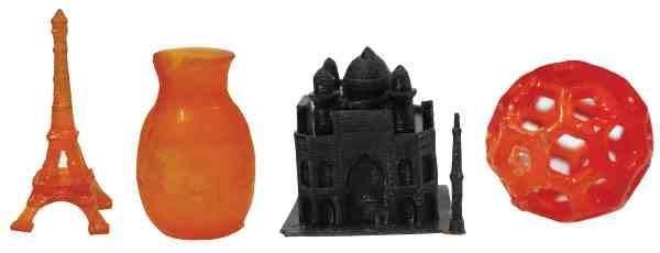 3D பிரின்டிங் மூலம் உருவான மாடல்கள்