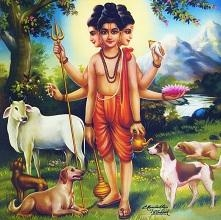 அத்ரி மகரிஷியின் மகன் தத்தாத்ரேயர்