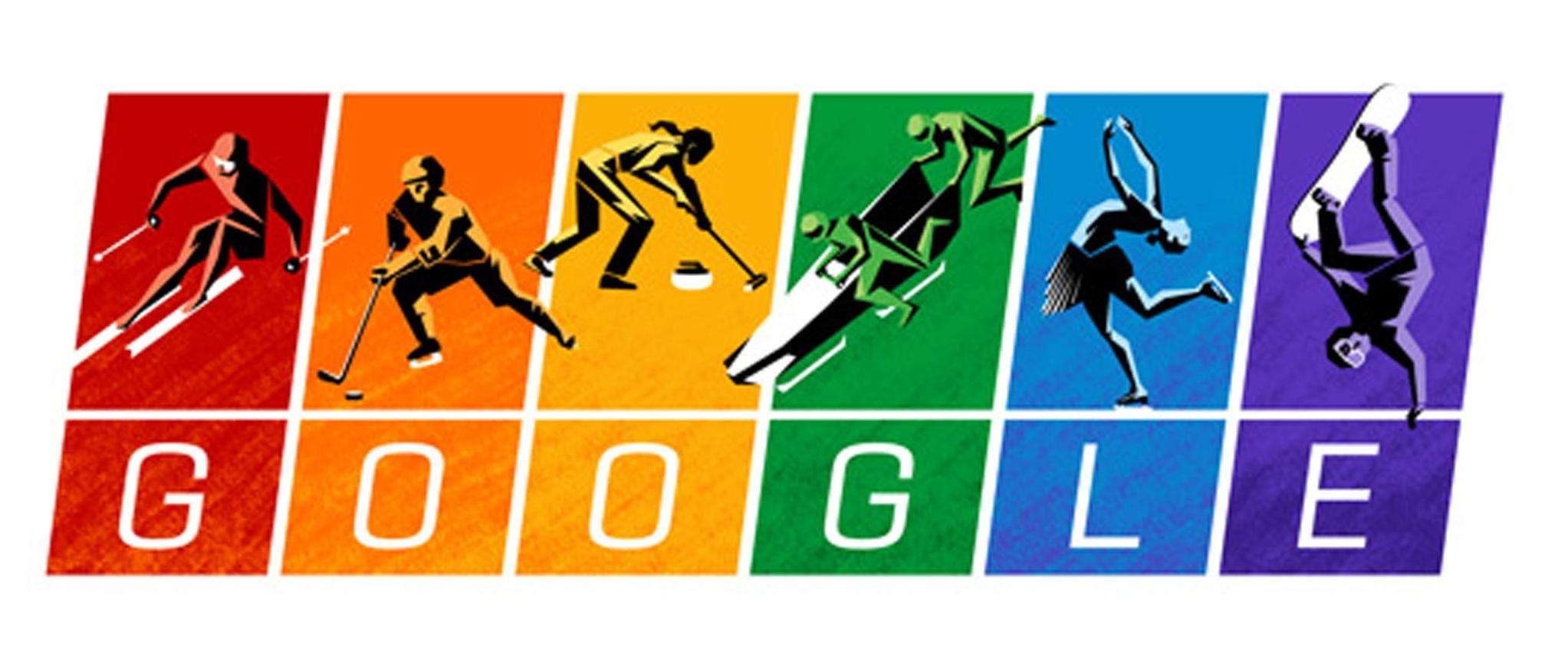 டூடுல்கள் Winter Olympics 2014