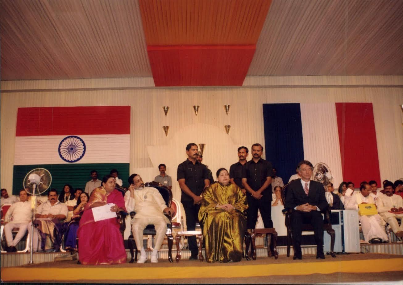 ஜெயலலிதா, சிவாஜி