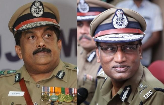 போலீஸ் டி.ஜி.பி.கள் டி.கே.ராஜேந்திரன், எஸ்.ஜார்ஜ்