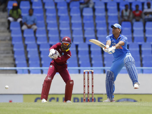 dhoni west indies tour