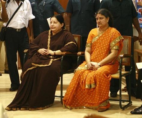 சசிகலா - ஜெயலலிதா